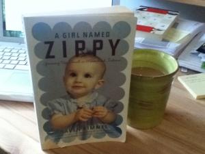 Zippy, plus my morning coffee
