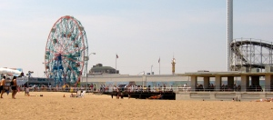 Coney Island—can't believe my husband's never been!