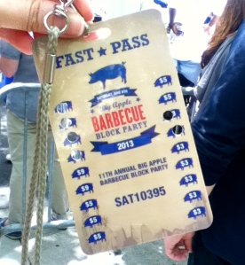 Our beloved FastPass — by the end of the day, we'd spent every dollar.