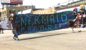 It's the Mermaid Parade!