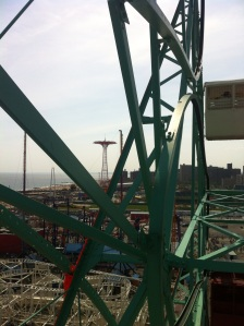 Another view from the Wonder Wheel