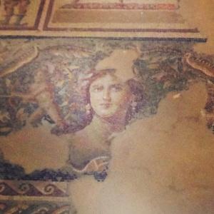 "The ""Mona Lisa of Tzippori,"" a 3rd century mosaic floor"