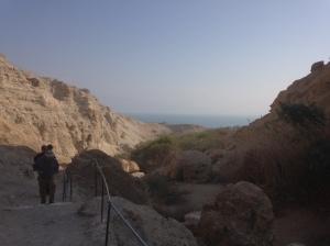 Hiking at Ein Gedi