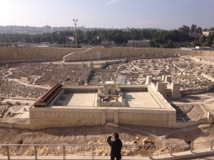 The Israel Museum has a cool scale replica of Jerusalem at the time of the Second Temple.