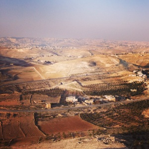 The view from the Herodium - Herod the Great's final resting place.