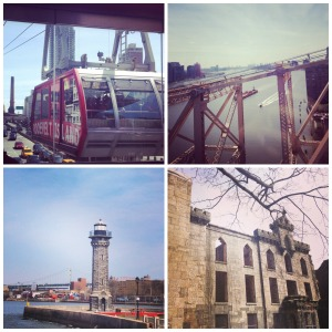 Roosevelt Island collage