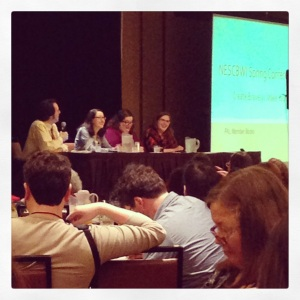 NESCBWI publishing panel—Alexandra is second from left