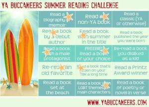 Summer Reading 8-1